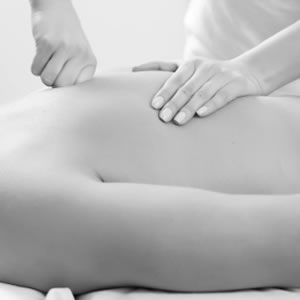 Image of deep tissue massage at Charlotte Knight's St.James's Surgery